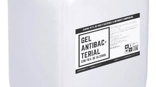 Garrafa de gel atibacterial 20 litros