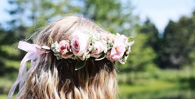 Lux Flower Crown Wedding
