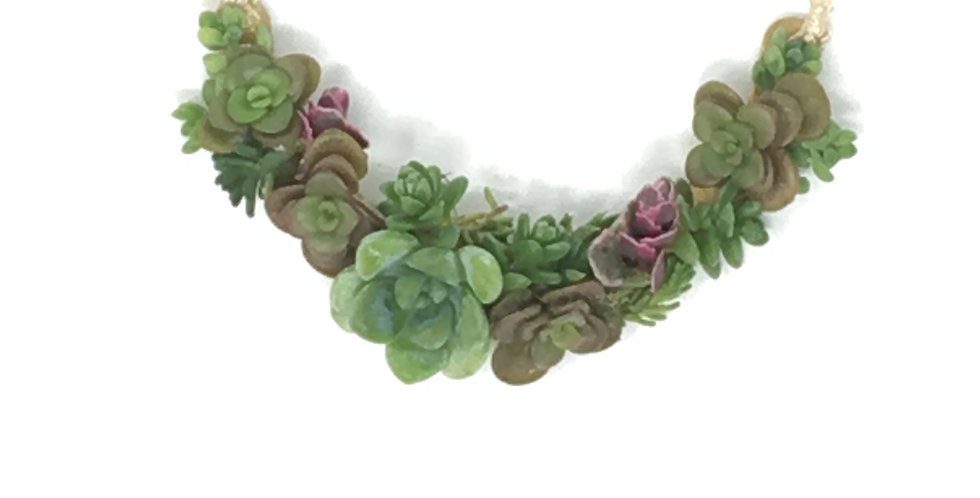 Succulents on a String