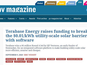 Terabase Energy raises funding to break the $0.01/kWh utility-scale solar barrier with software