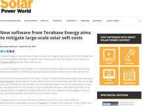 New software from Terabase Energy aims to mitigate large-scale solar soft costs