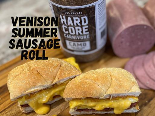 Venison Summer Sausage Roll