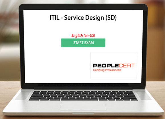 ITIL - SERVICE DESIGN (SD) - EXAM