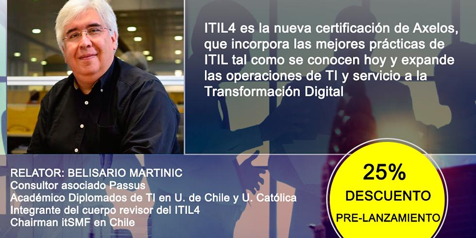 Curso ITIL® 4  (Vespertino 5 días)