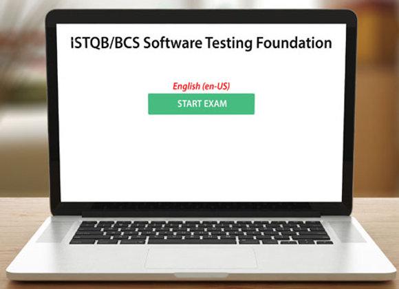 ISTQB SOFTWARE TESTING FOUNDATION - EXAM