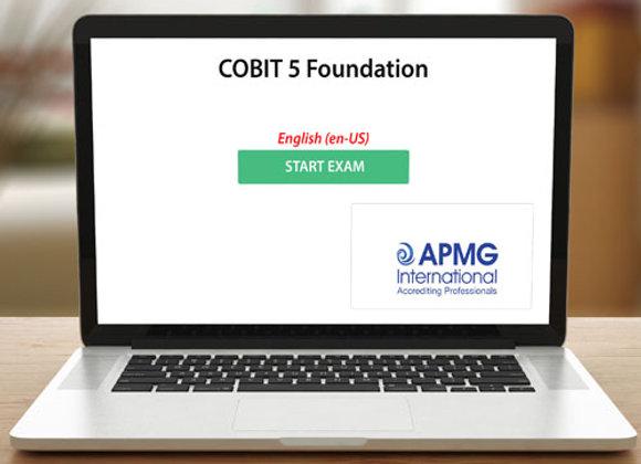 COBIT 5 FOUNDATION - EXAM