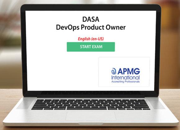 DASA - DevOps Product Owner - examen