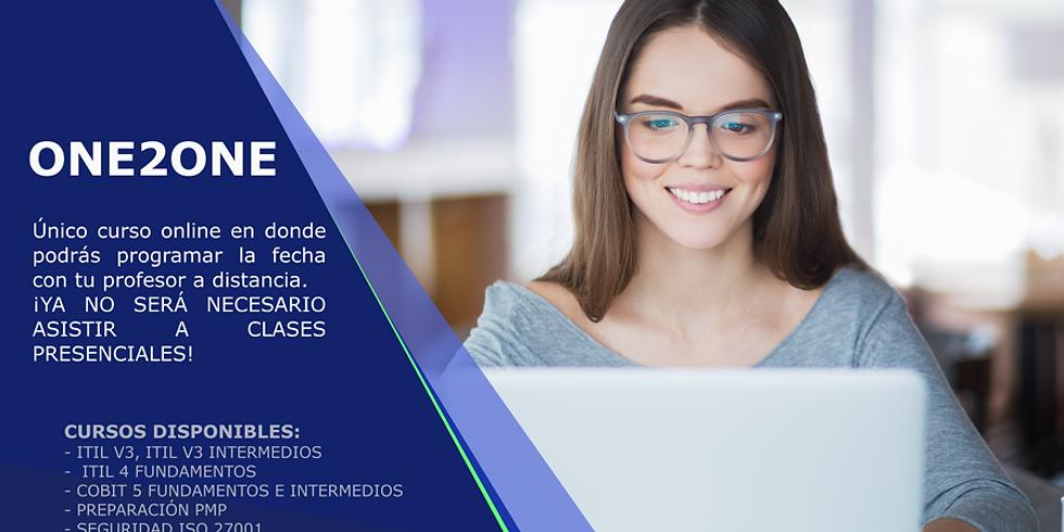 Curso ITIL® 4  Fundamentos - Aula Virtual (25 Noviembre 2019)