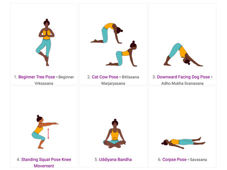 A Yoga Sequence to Raise your Energy