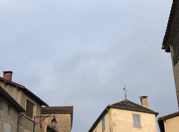 View from Institut de Formation de Savonnerie Caylus