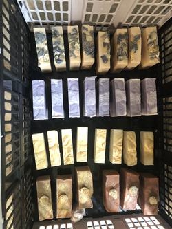 Une gamme de savon
