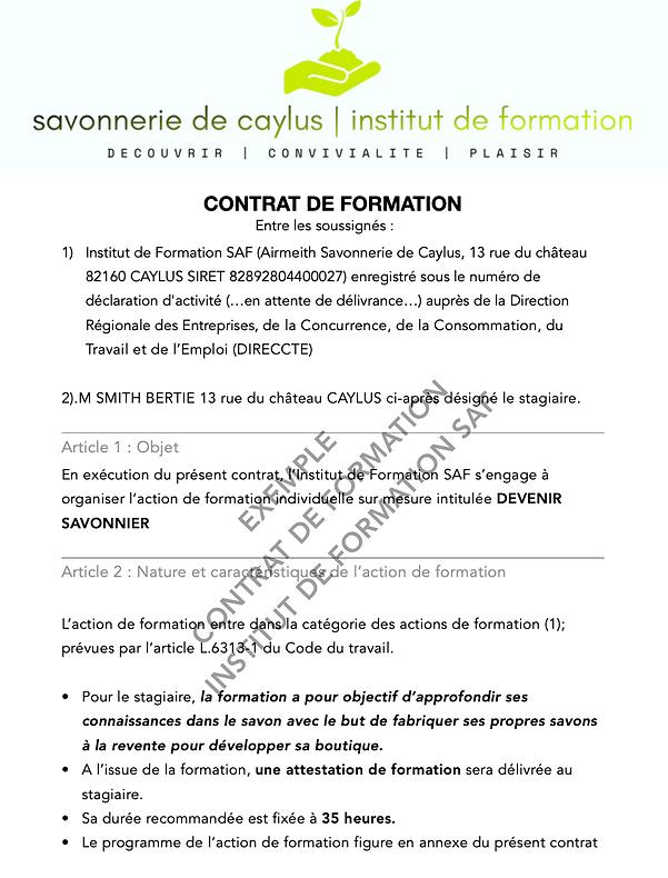 contrat 1