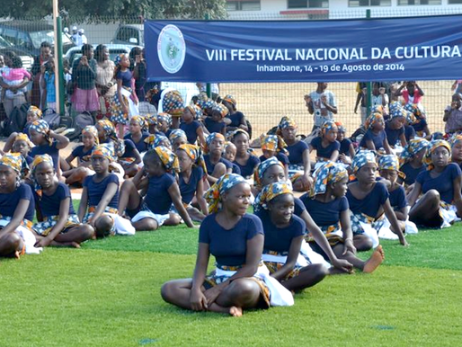 Workshops held at The National Cultural Festival in Mozambique