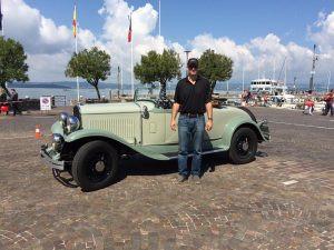 Adventurous is: Racing in the Mille Miglia