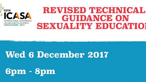 UNESCO 2017 ICASA Side Event: Revised Technical Guidelines on Sexuality Education