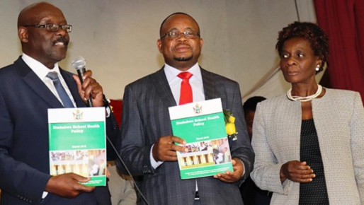 Zimbabwe launches the much anticipated School Health Policy