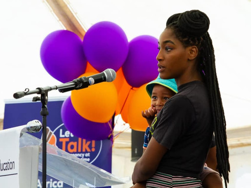 """Launch of the """"Let's Talk"""" National Campaign on Early and Unintended Pregnancy in"""