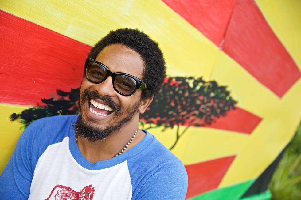 Photo Credit: Lou Bopp. Rohan Marley in Jamaica.