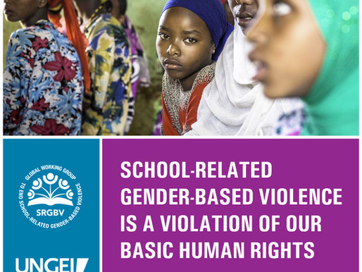 16 Days of Activism: Together we can end gender-based violence in schools Introducing the 'Whole Sch