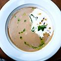 Суп из каштанов с лавандой