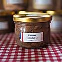 Рийет из говядины с горьким шоколадом и чили