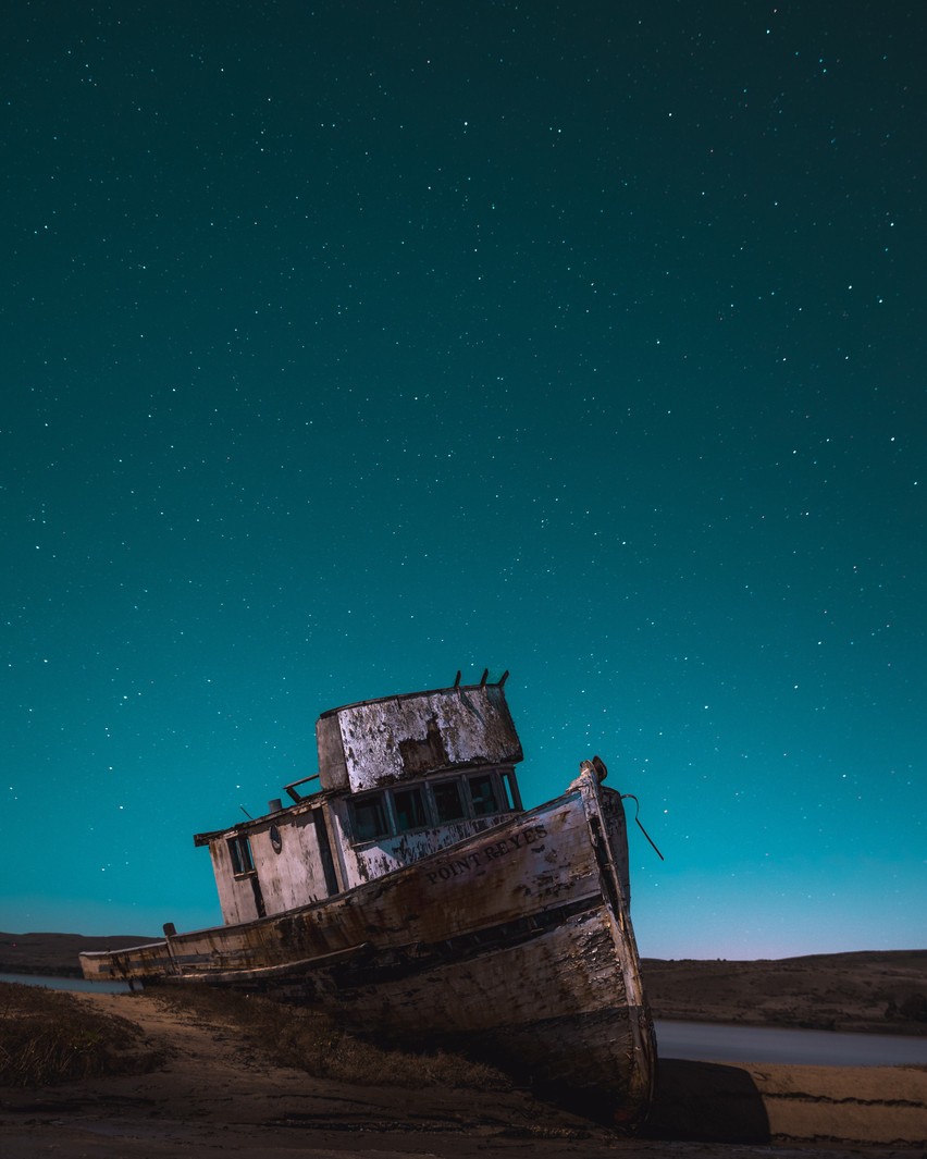Shipwrecked Boat at Twilight.jpg