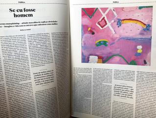 Pinturas para texto de Rebecca Solnit -  revista Quatro Cinco Um