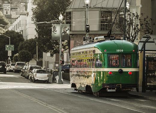 Portrait rétro de San Francisco