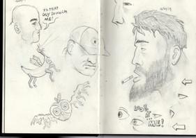 Nonconsensual drawing.