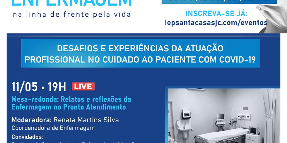 LIVE: Relatos e reflexões da Enfermagem no Pronto Atendimento