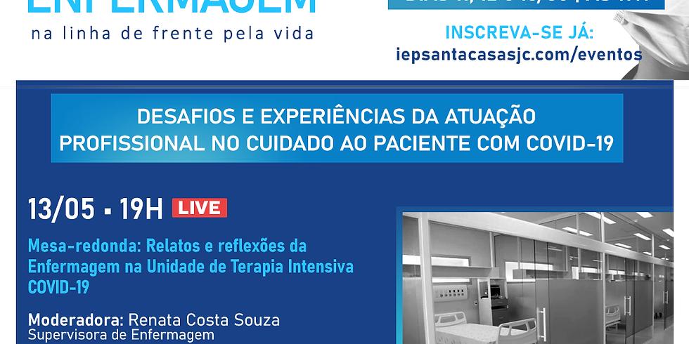 LIVE: Relatos e reflexões da Enfermagem na Unidade de Terapia Intensiva COVID-19