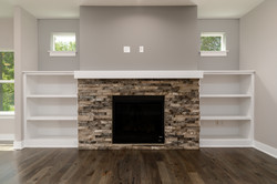 #75 fireplace with built-ins