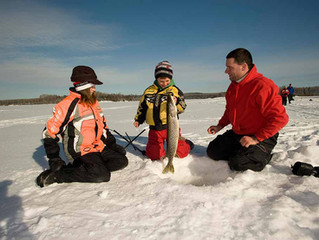 Water Time Fun Year-round - Ice Fishing 101