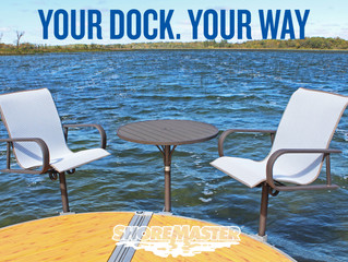 New Premium Dock Furniture Available