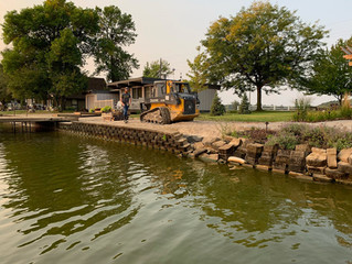 Caring For Your Seawall this Summer
