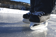 Tips for Ice Skating on the Lake