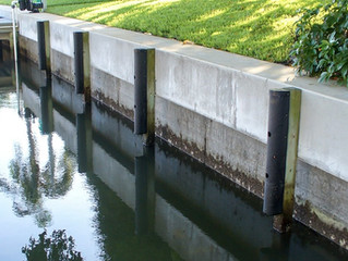 Concrete or Vinyl Seawalls - Which is Better?