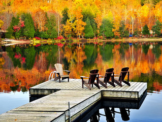 Preparing Your Lake Home for Fall
