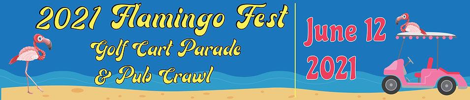Galveston Texas Flamingo Fest