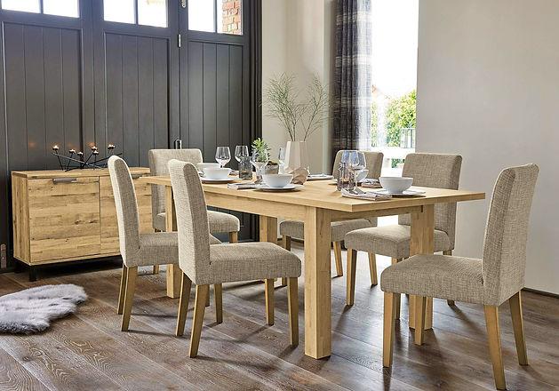 Elegant dining room design. Interior of