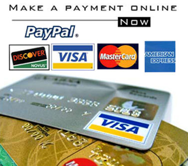 Payment on-line photo promoting PayPal.