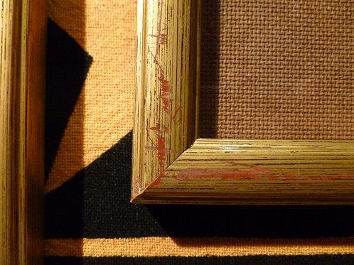 Cornici dorate il legno varie misure