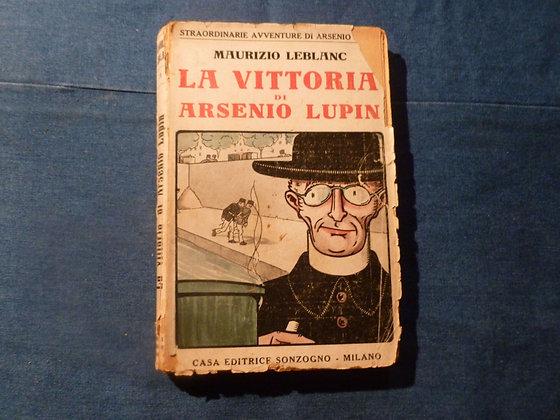 M. Leblanc - La vittoria di Arsenio Lupin - 1920
