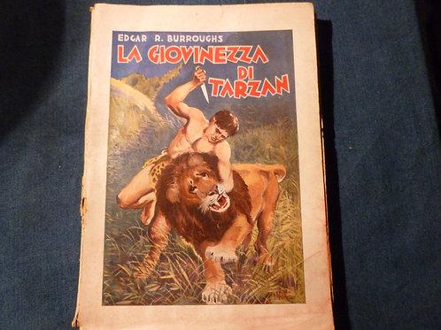 E.R. Burroughs - La giovinezza di Tarzan - 1935 (?)