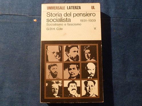 G.D.H. Cole - Storia del pensiero socialista - vol. V - 1973