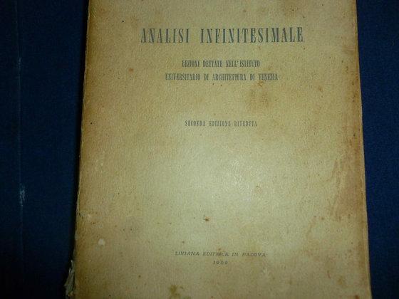 Agostino Puppo - Analisi infinitesimale - 1959