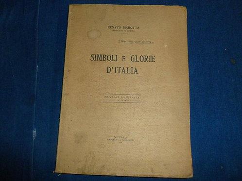 Renato Marotta - Simboli e glorie d'Italia - 1933