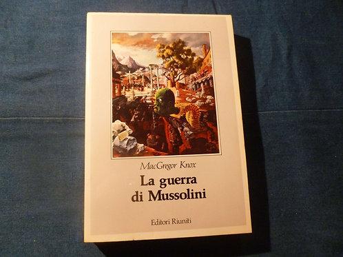 McG. Knox - La guerra di Mussolini - 1984