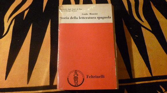 G. Mancini - Storia della letteratura spagnola - 1967
