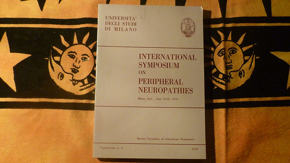 AA.VV. - International Symposium on peripheral neuropathies - 1978